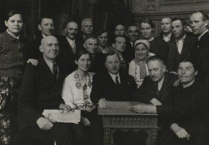 Петро Франко серед делегатів Повноважної Комісії Народних Зборів Західної України