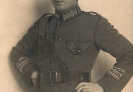 Петро Франко в однострої Української галицької армії