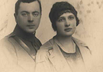 Петро Франко з дружиною Ольгою (з дому – Білевич)