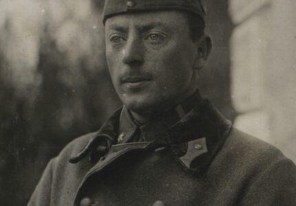 Петро Франко під час служби в Австро-Угорській армії
