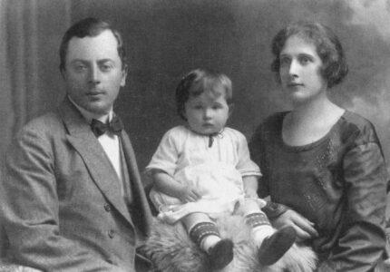Петро Франко з дружиною Ольгою та донькою Вірою
