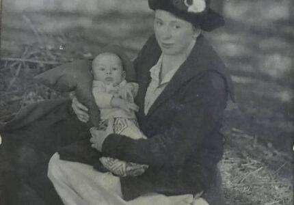 Анна Франко-Ключко з сином Тарасом