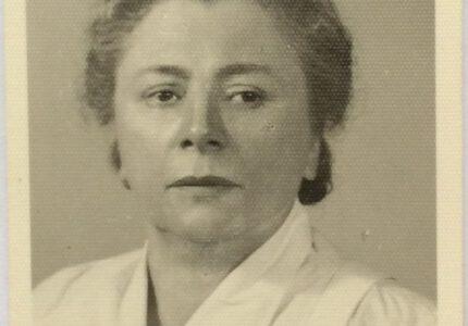 Анна Франко-Ключко, 1950-ті рр.
