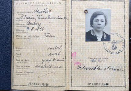 Паспорт Анни Франко-Ключко